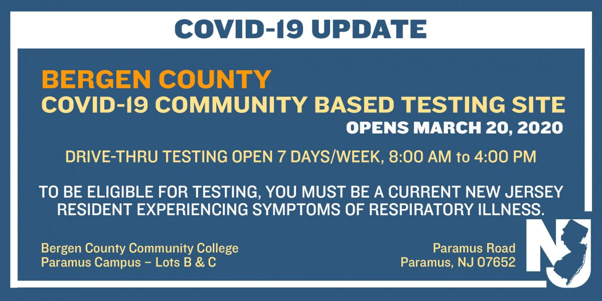 Governor's Tweet about BCC Testing Site