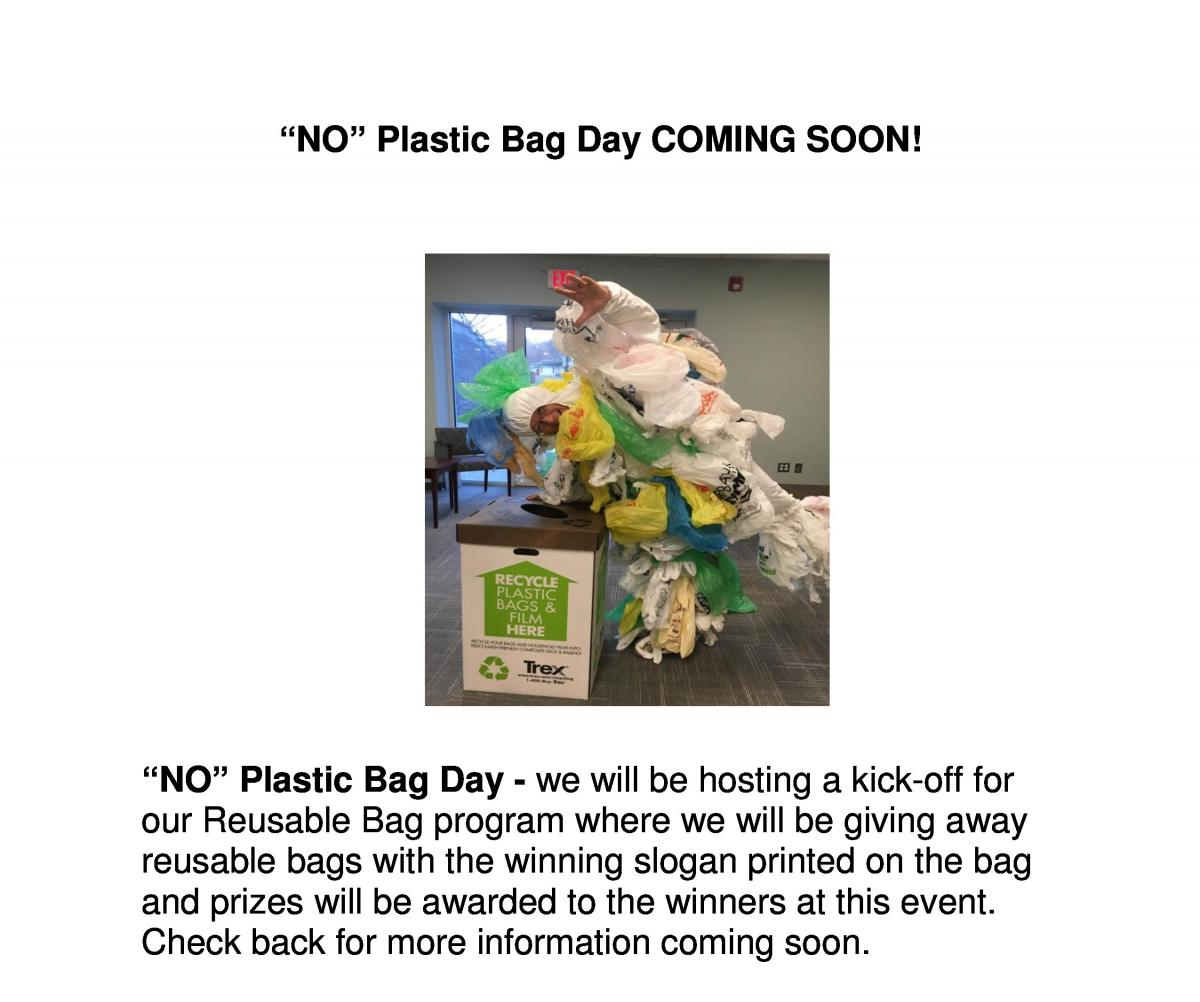 No Plastic Bag Day coming soon