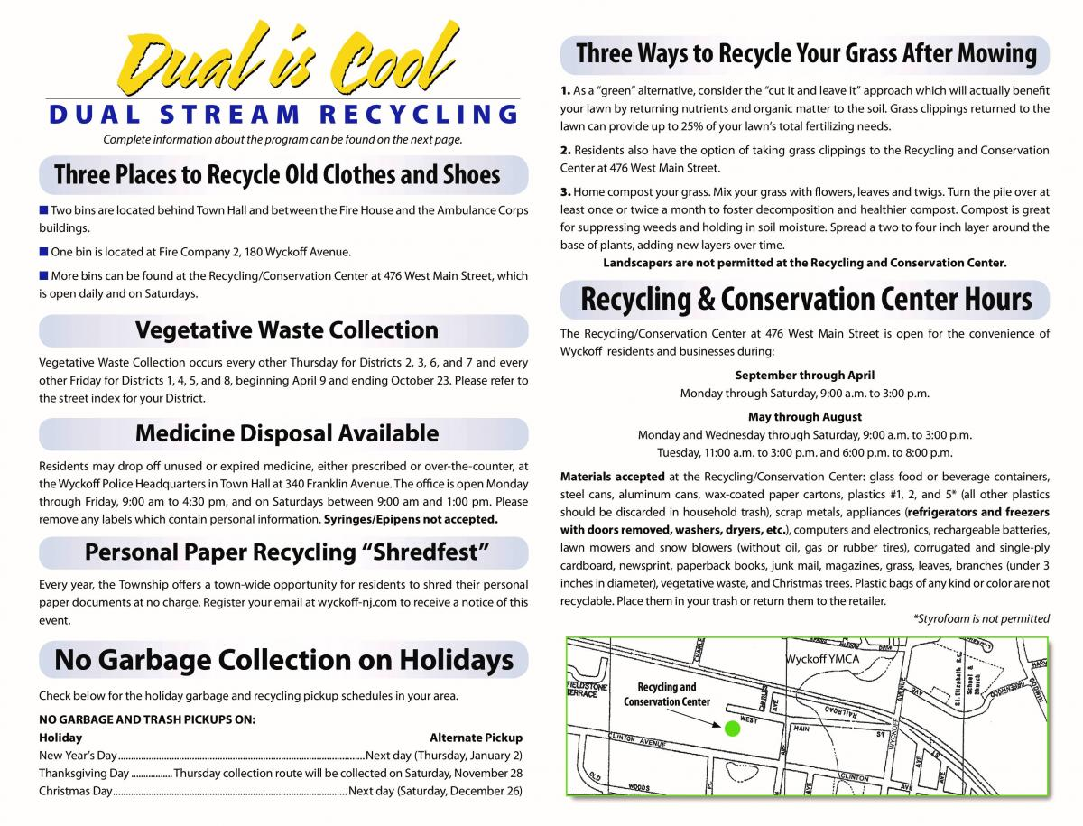 General Recycling Information