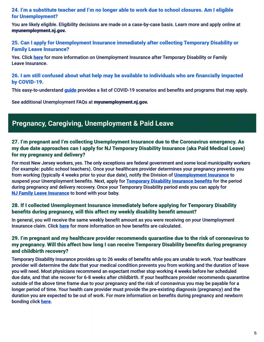 NJ Workers FAQs page 6