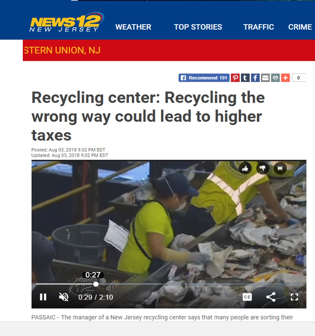 News 12 Recycling Story