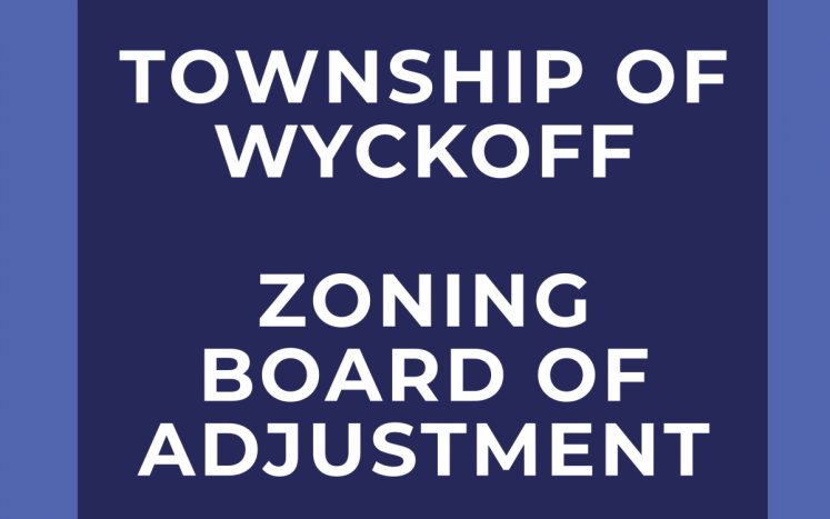 Zoning Board of Adjustment