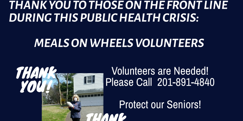 Thank you Meals on Wheels