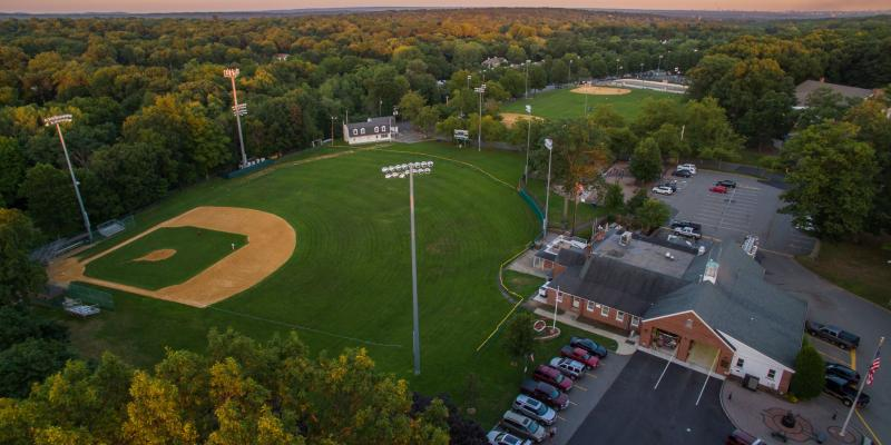 Aerial View of Memorial Field Campus